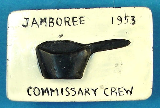 1953 NJ Commissary Crew Neckerchief Slide
