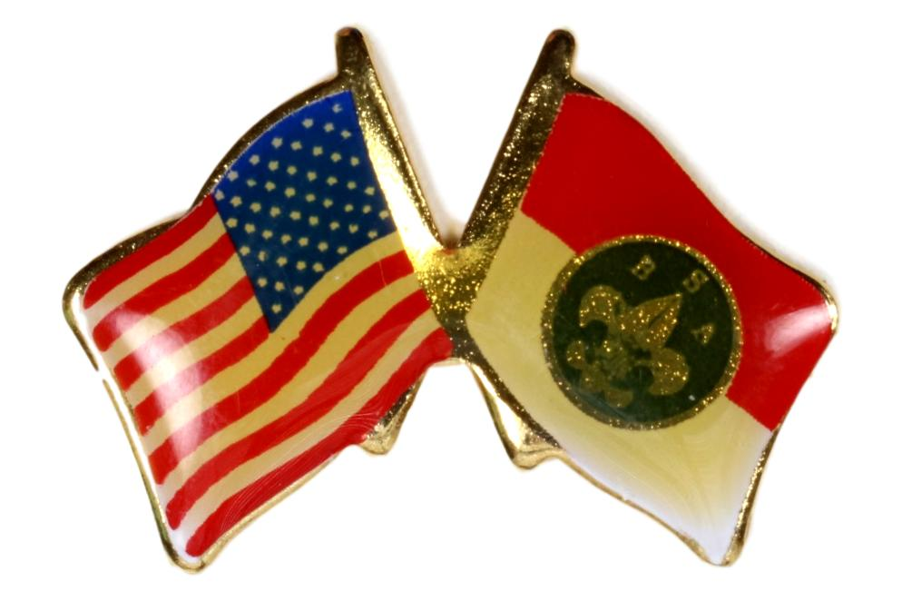 USA/BSA Flag Pin
