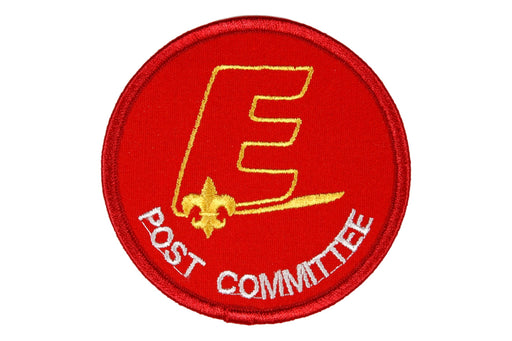 Explorer Post Committee Patch New Style E