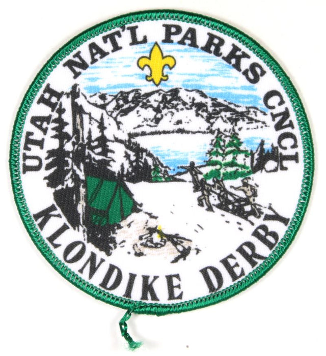 1986 Utah National Parks Klondike Derby Patch