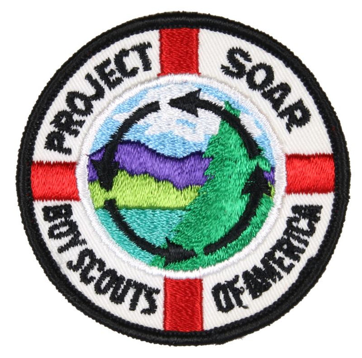 Project SOAR Patch with White Inner Circle