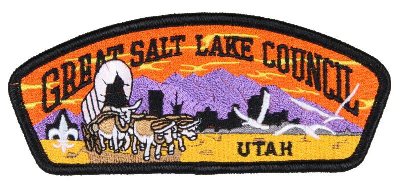 Great Salt Lake CSP S-77 Since 1910 Back