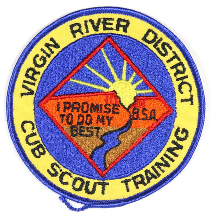 Virgin River Districe Patch Cub Scout Training