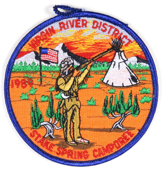 Virgin River Districe Patch 1989 Spring Camporee