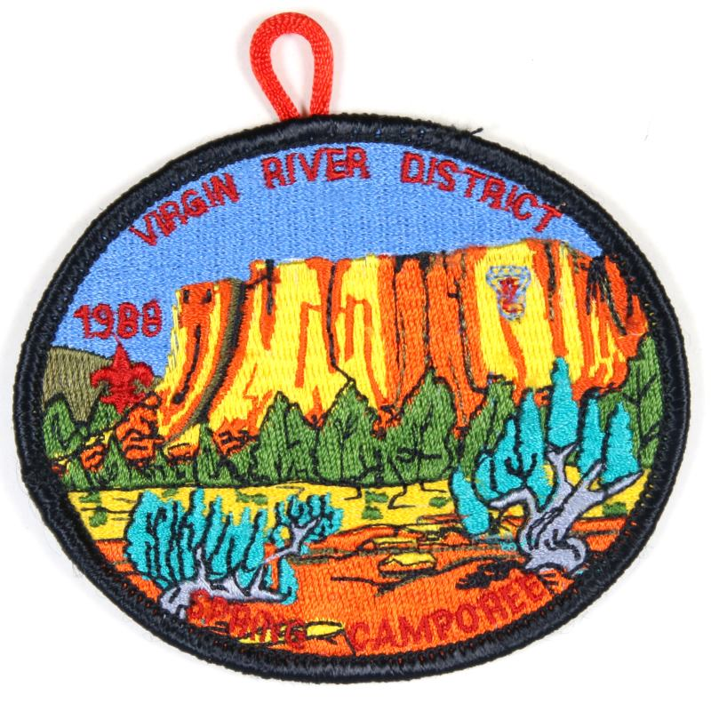 Virgin River Districe Patch 1988 Spring Camporee