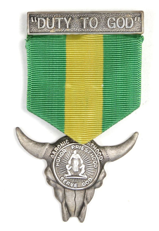 Duty to God Award Medal LDS Type 7f