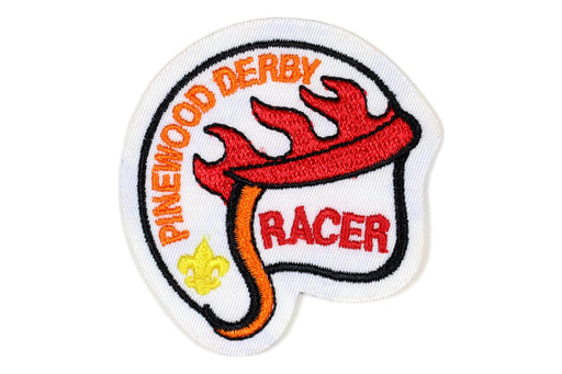 Award - Pinewood Derby Racer Patch