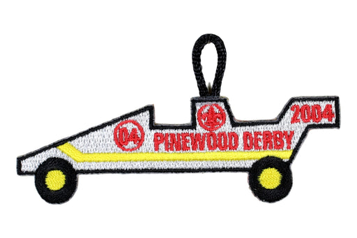 Award - Pinewood Derby Patch 2004