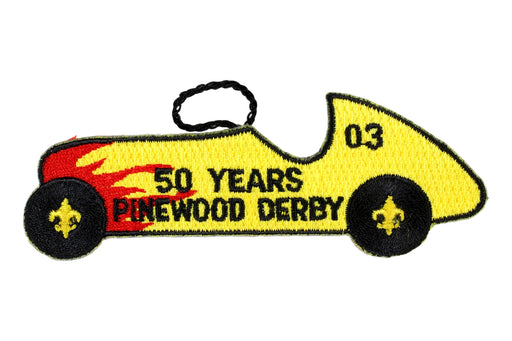 Award - Pinewood Derby Patch 2003