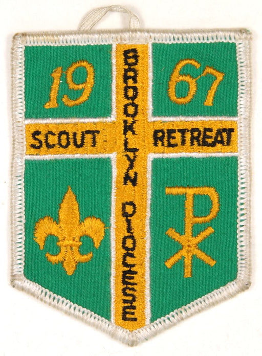 1967 Brooklyn Diocese Scout Retreat Patch