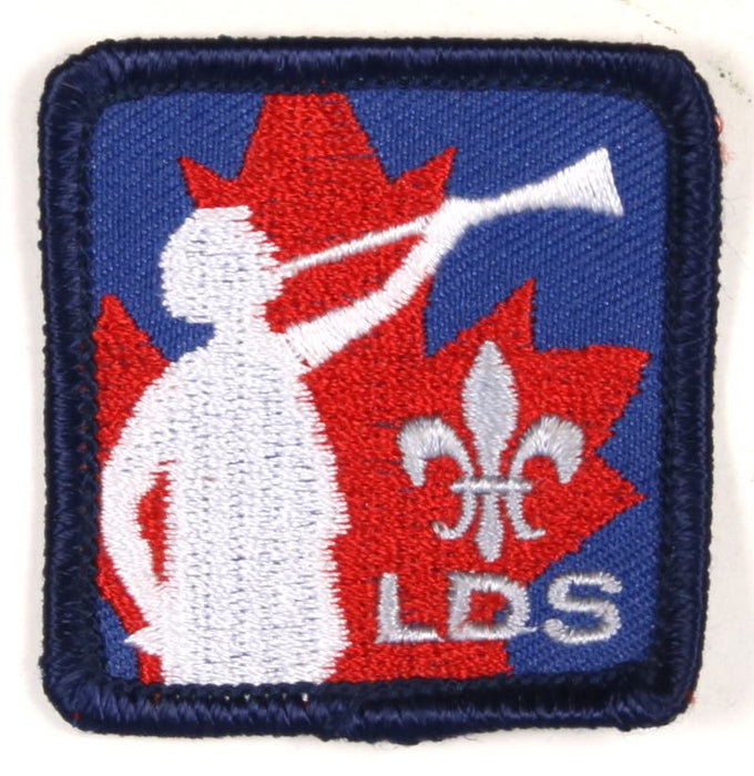 "LDS Patch 1 7/8"" Square"