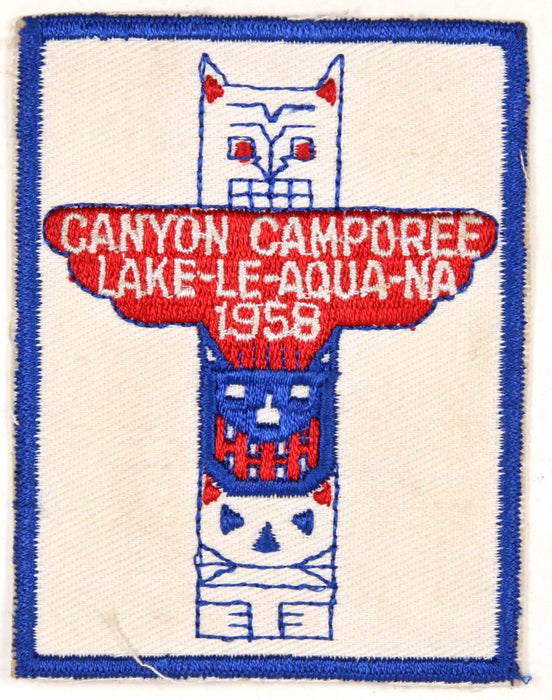 Canyon Camporee Patch 1958