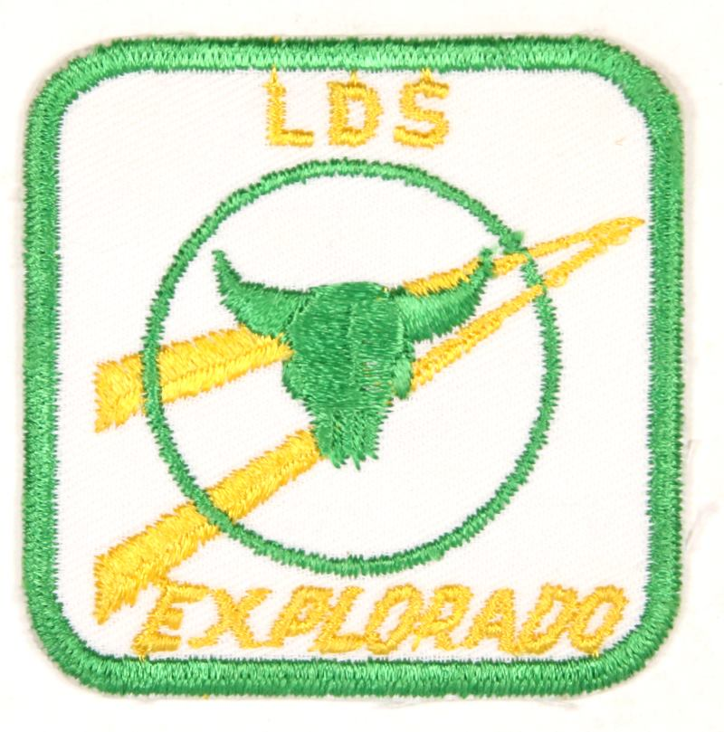 1969 LDS Explorado Patch