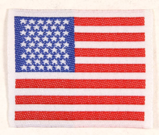 American Flag Patch Silk