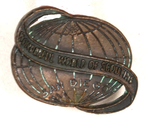 Wonderful World of Scouting Neckerchief Slide