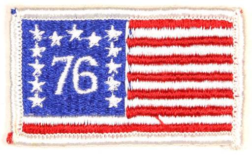 American Flag Patch 1976