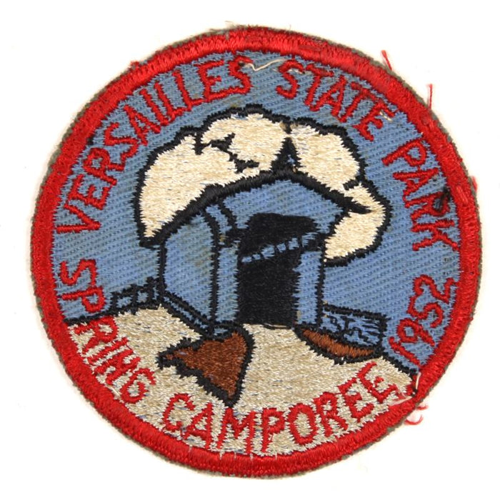 Versailles State Park Spring Camporee 1952 Patch