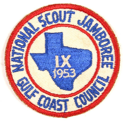 1953 NJ Gulf Coast Council Patch