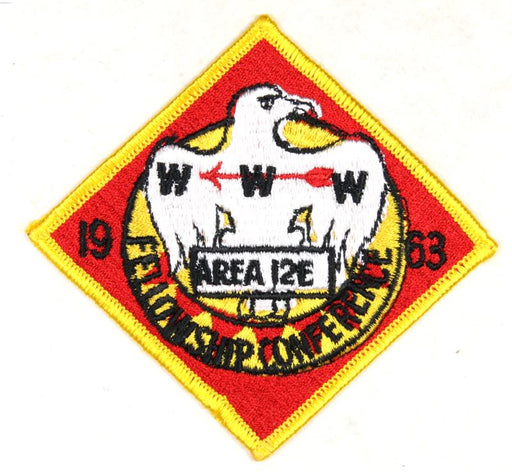 1963 Area 12E Secton Conference Patch