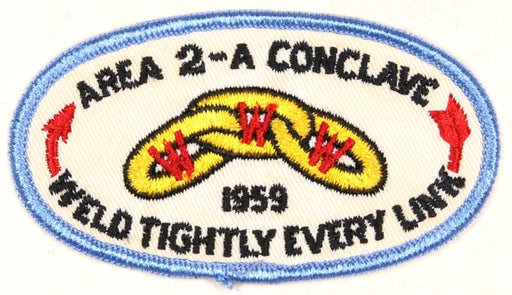 1959 Area 2A Conclave Patch
