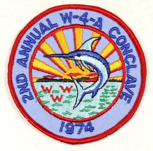 1974 Section W4A Conclave Patch