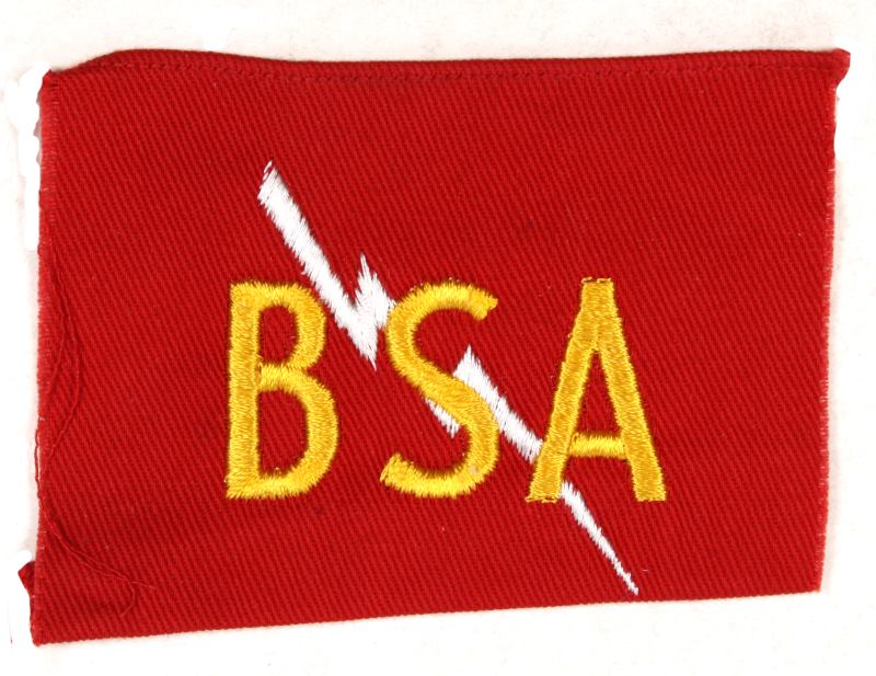 EXplorer Emergency Service Cloth BSA Lightening Bolt