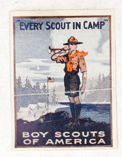 Every Scout in Camp Sticker