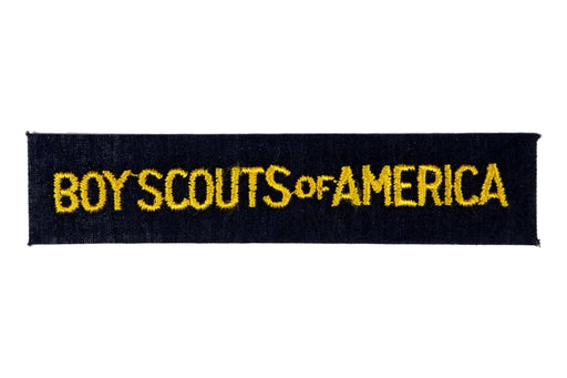 Cub Scouts 1970s Shirts Strip on Blue Boy Scouts of America