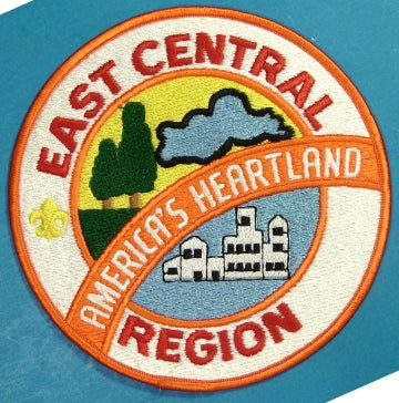 East Central Region Jacket Patch