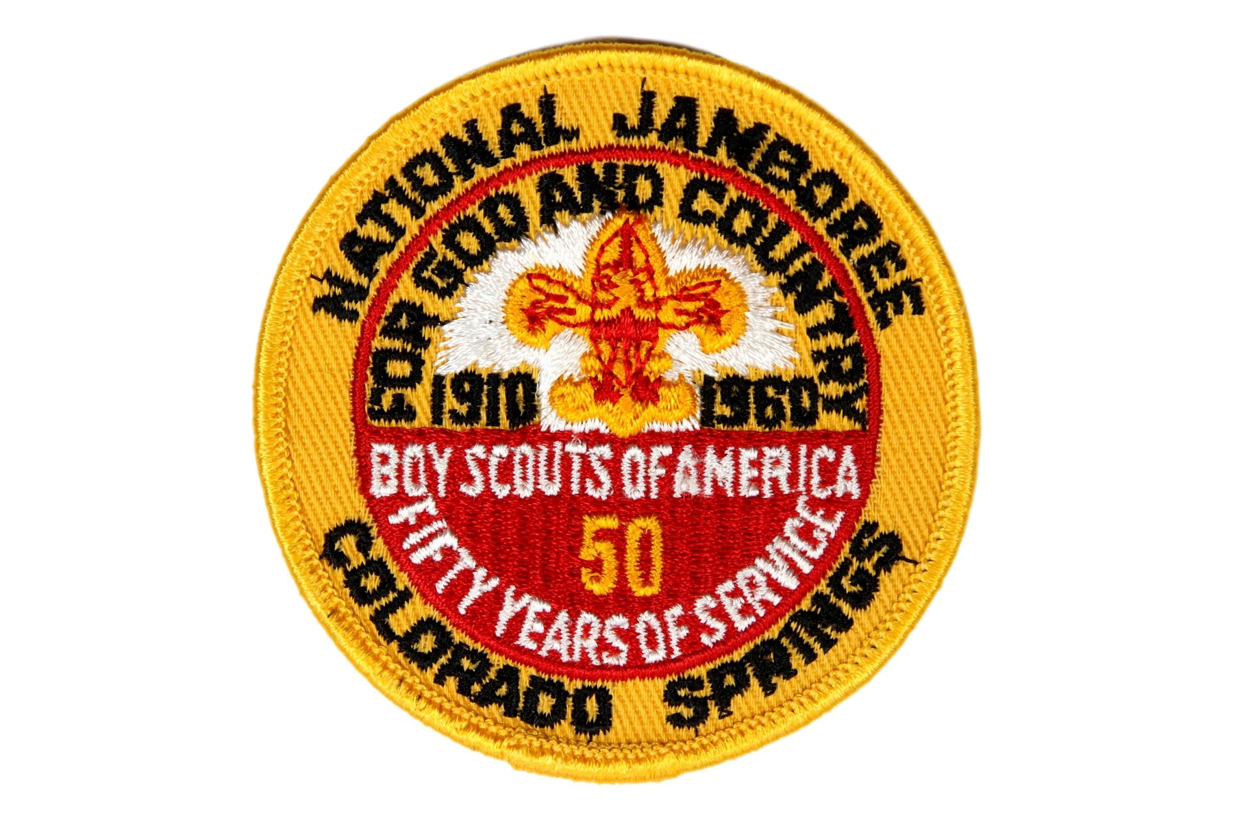 1960 NJ Patch Reproduction