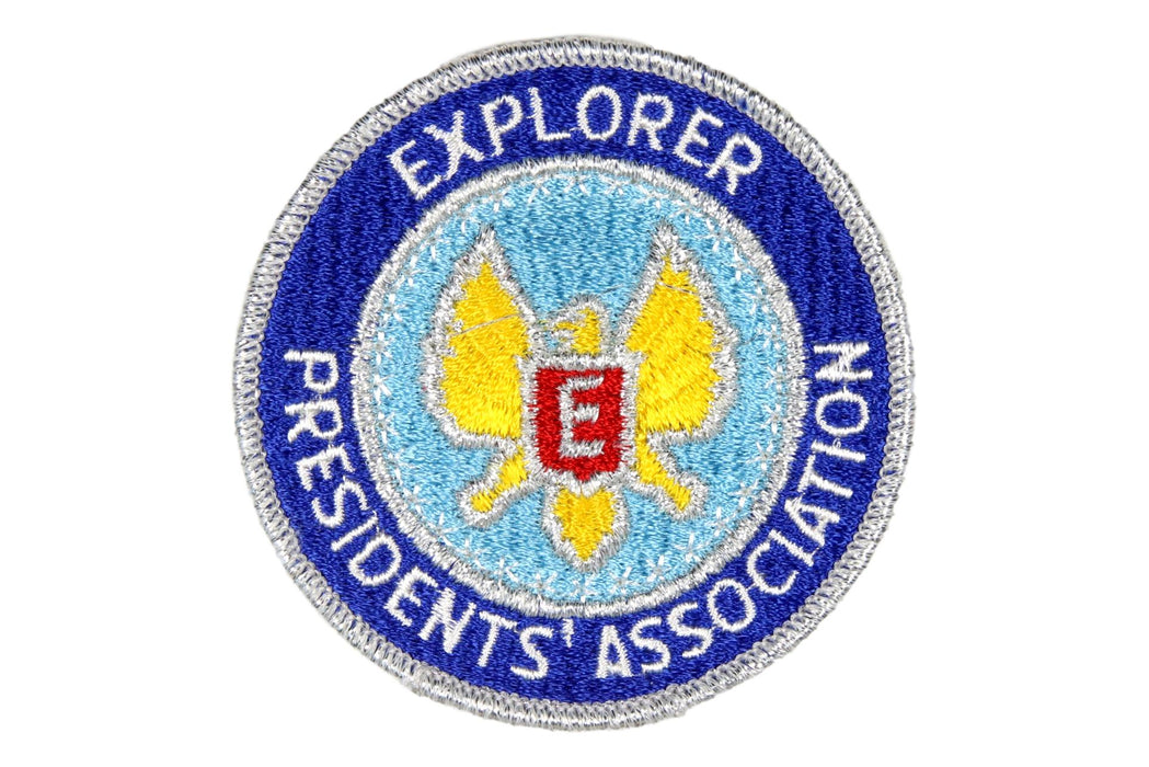 Explorer Presidents Association Patch