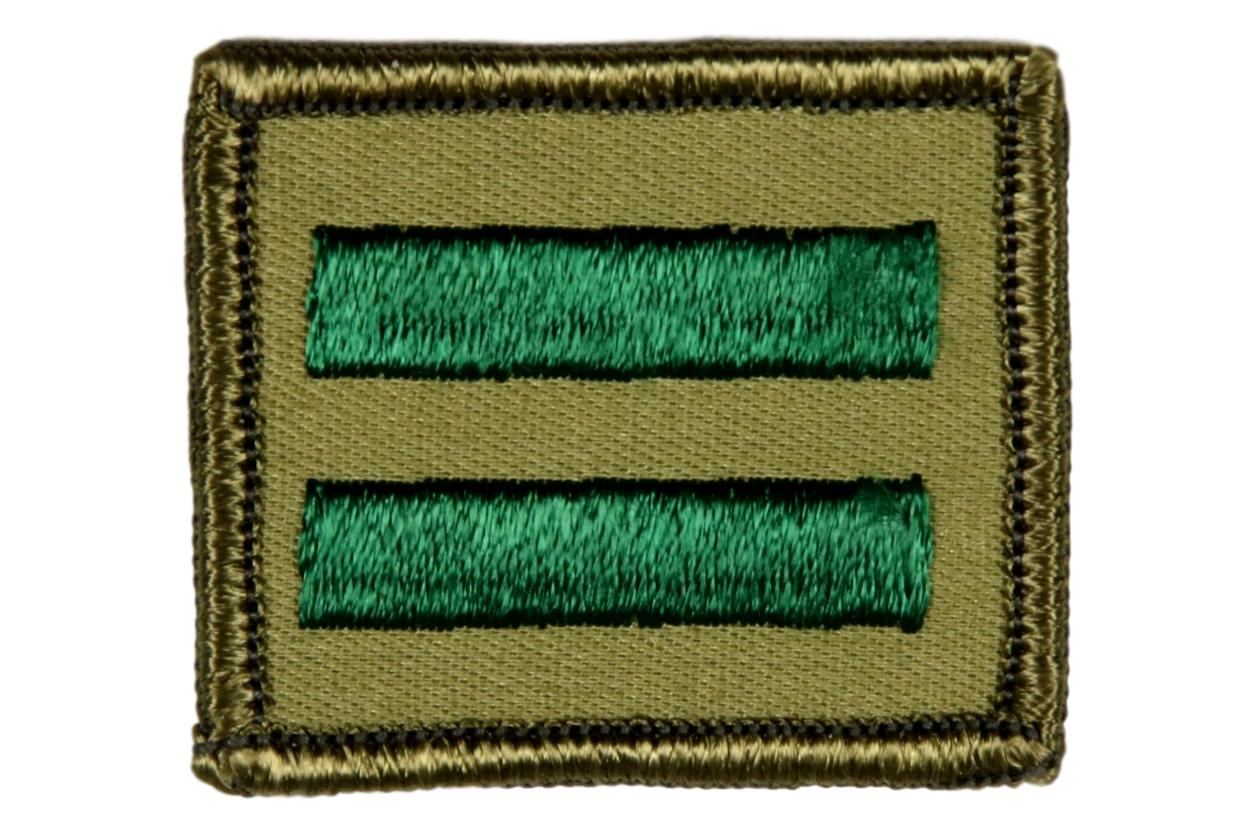 Patrol Leader Patch 1960s Rolled Edge