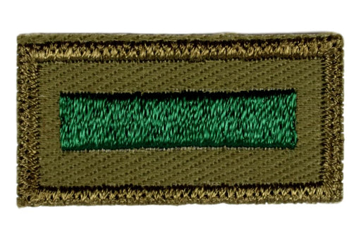 Assistant Patrol Leader Patch 1960s Rough Twill Gauze Back