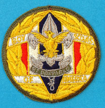 National Staff Patch 1950s