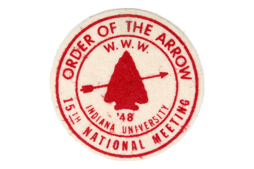1948 NOAC Patch Real