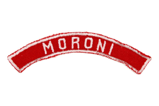 Moroni Red and White City Strip