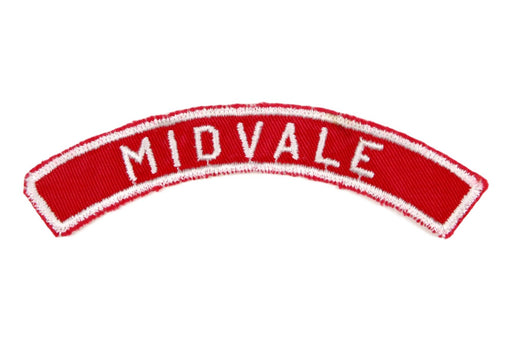 Midvale Red and White City Strip
