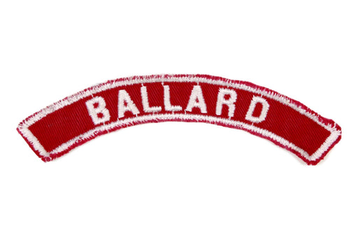 Ballard Red and White City Strip