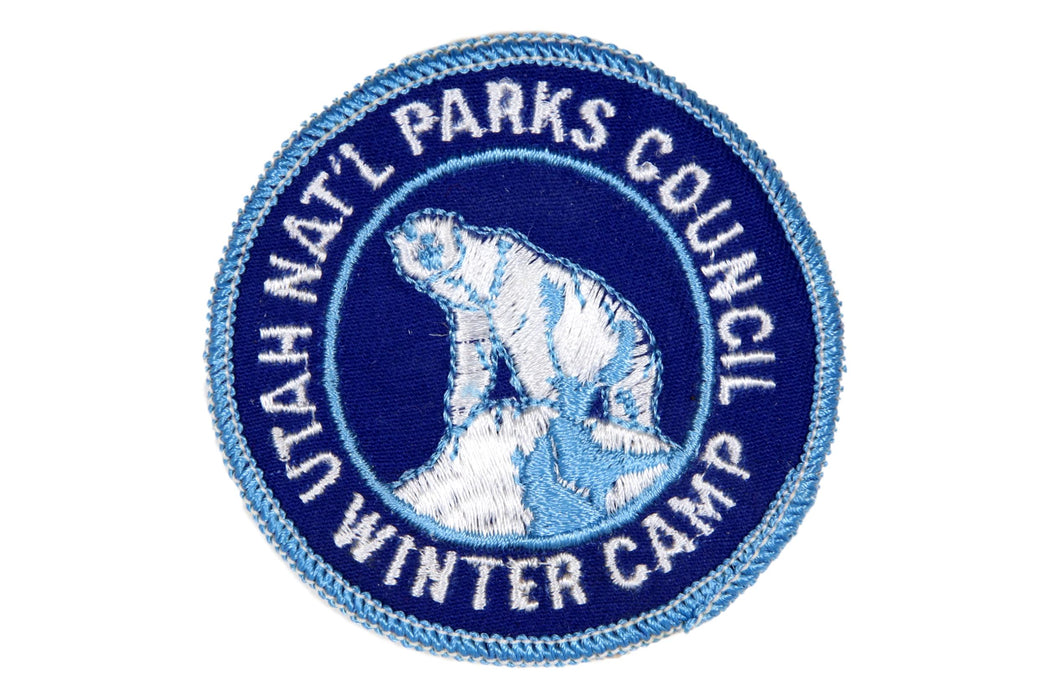 1976 Utah National Parks Winter Camp Patch