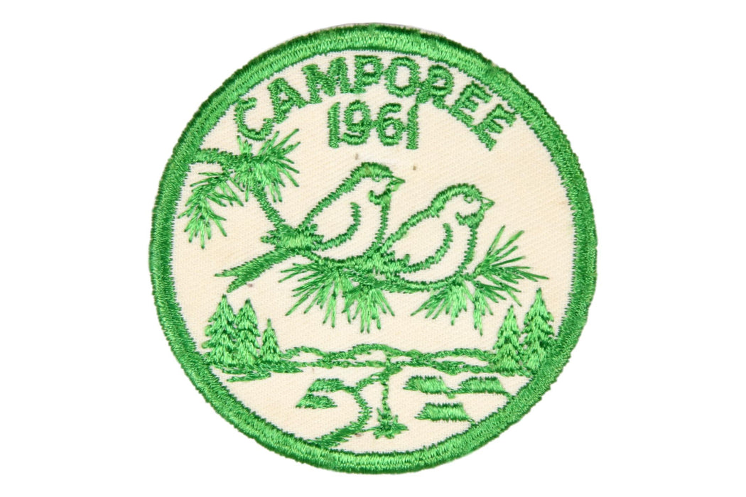 1961 Camporee Patch