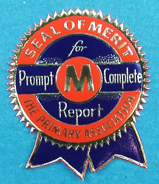 LDS Primary Seal of Merit Seal