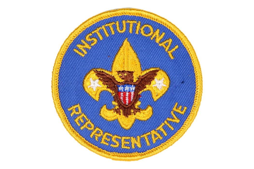 Institutional Representative Patch