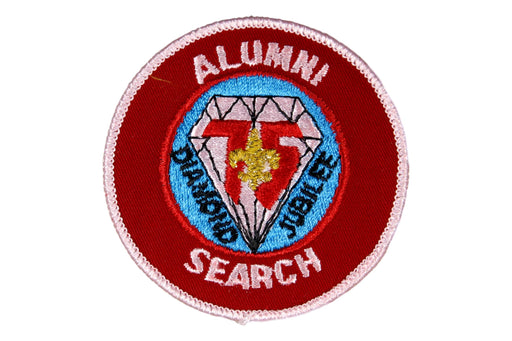 Alumni Search Patch Plastic/Gauze Back