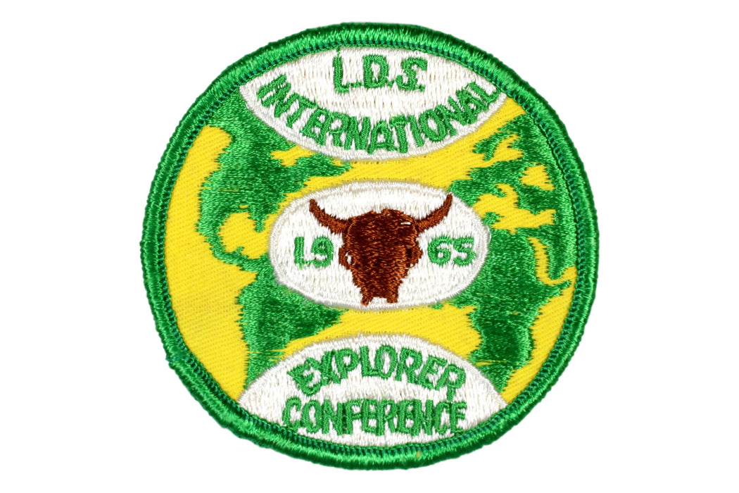 1965 LDS Explorer Leadership Conference Patch