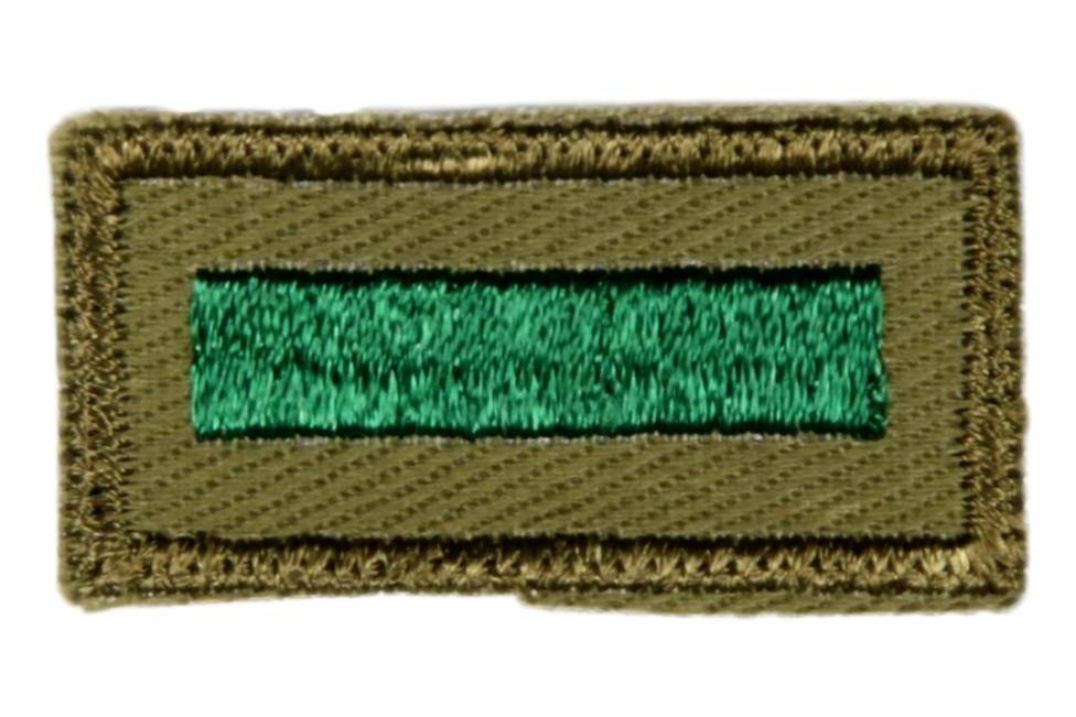 Assistant Patrol Leader Patch 1960s Rough Twill Gum Back