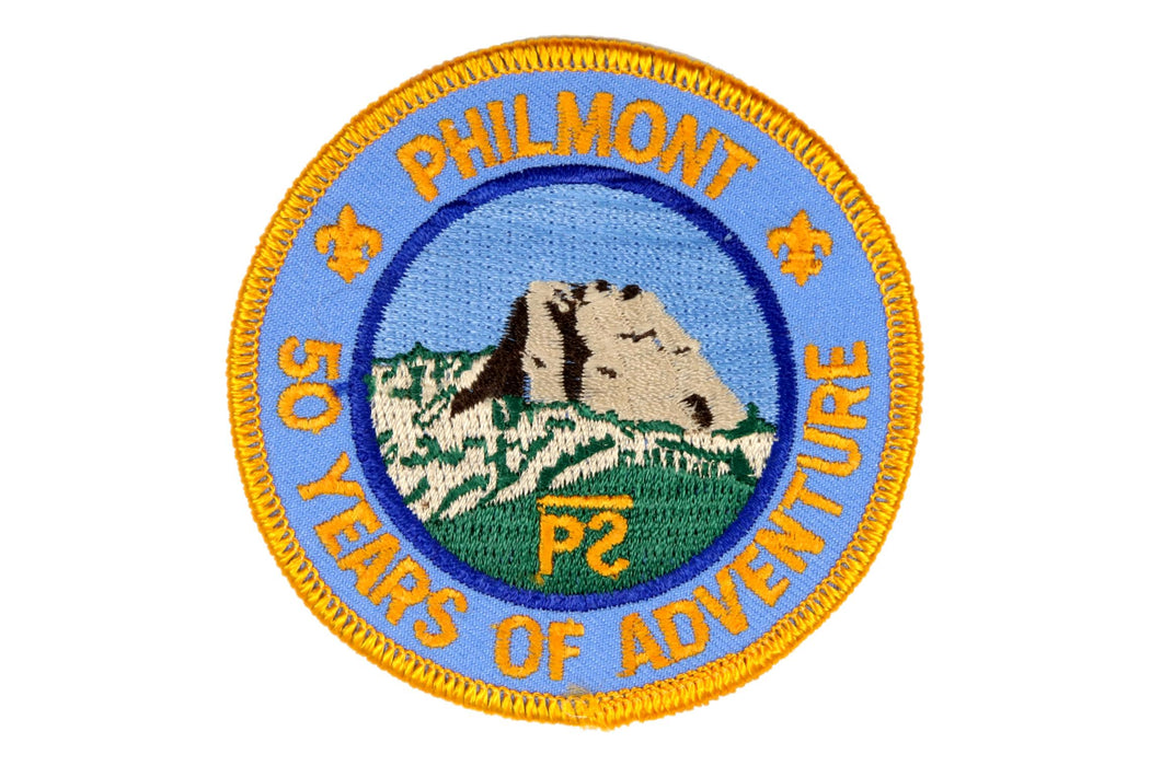 Philmont 50th Anniversary Patch