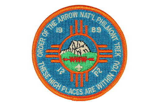 1989 Philmont Order of the Arrow Trek Patch