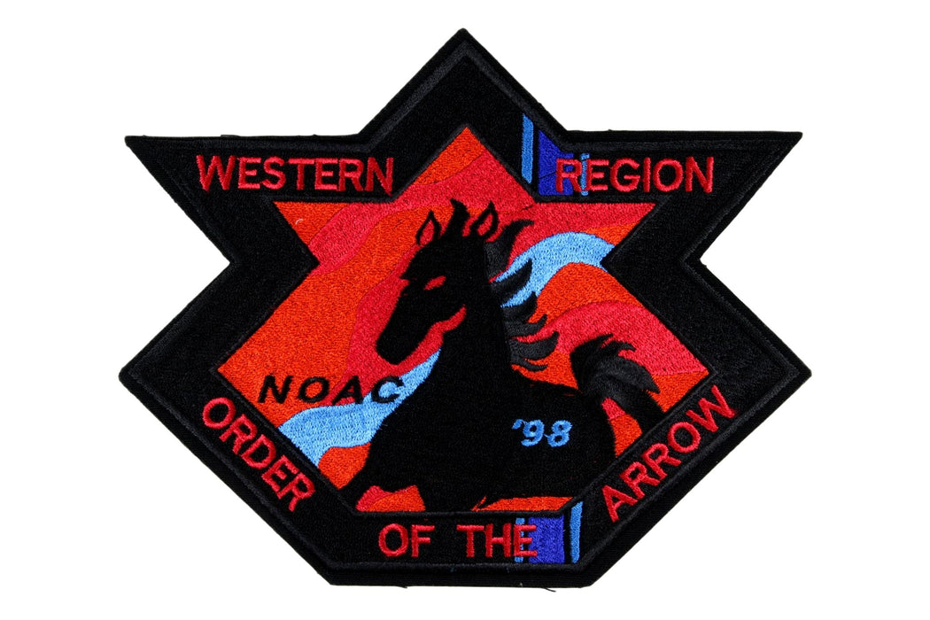 1998 NOAC Western Region Jacket Patch