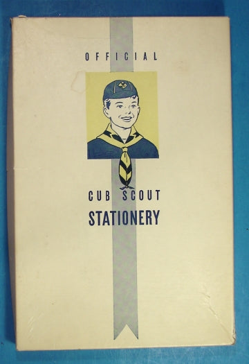 Cub Scout Stationery 1940-50s