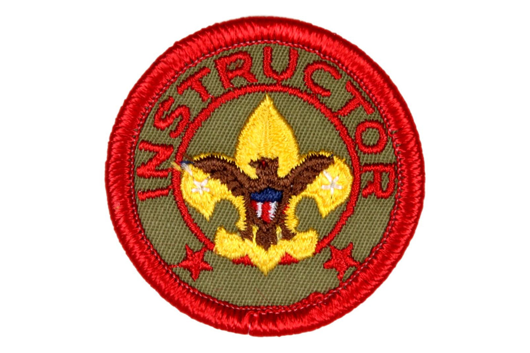 "Instructor Patch 1960s 2"" Gauze Back"